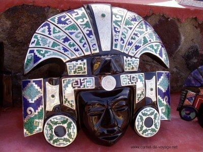 Mayas Masques Masques Mayas