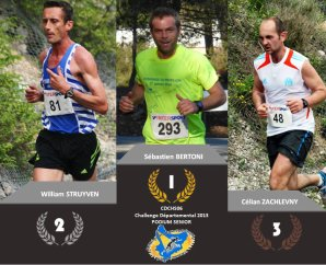 Challenge 2013 du CDCHS 06 – Seb Bertoni vainqueur en Senior, Max en bronze en V1