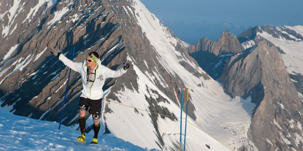 Ice Trail Tarentaise 2014 (Val d'Is�re – 38) – Bruno Lagarde � limite la casse �