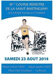 Course de la Saint-Barth�l�my 2014 (Cannes-La Bocca) - Maximillien Maccio 2�me V1, Fran�ois Petry 1er V4
