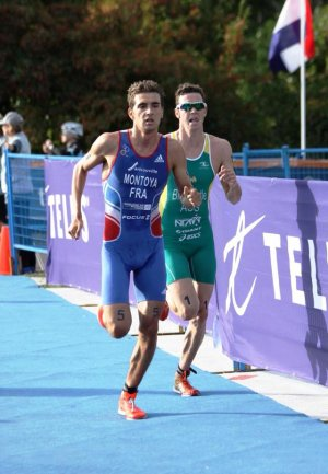 Triathlon - Raphael Montoya Champion du Monde Juniors 2014
