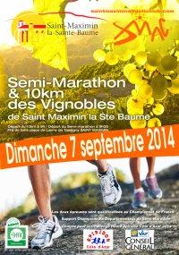 Semi-Marathon de Saint-Maximin (83) 2014 – Podium pour Fran�ois-Marie P�try