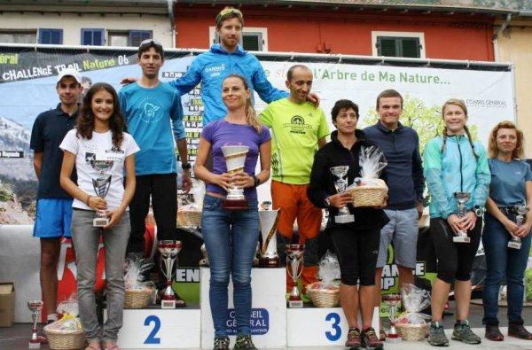 Trail Endurance Shop de Gorbio 2014 – Benoit Outters 2�me senior du 42 km