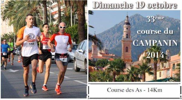 Course du Campanin 2014 (Menton) – Maximillien Maccio 5�me et 1er V1
