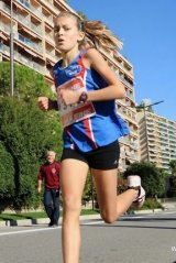 Cross du Larvotto 2014 (Monaco) – Paloma Fargere 2�me Benjamine
