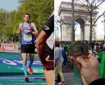 """Marathon de Paris 2015 - """"Contrat rempli"""" pour Nicolas Dalmasso"""
