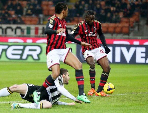 2013 Copa Italia quart de finale : AC MILAN UDINESE 1-2, le 22/01/2014