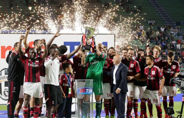2014 Trofeo TIM , Carton plein pour l' AC MILAN, le 23/08/2014