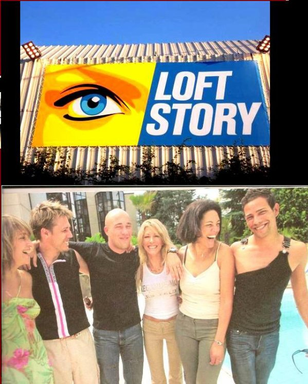 Steevy boulay du loft en 2001 steevy boulay for Loft story 1 piscine