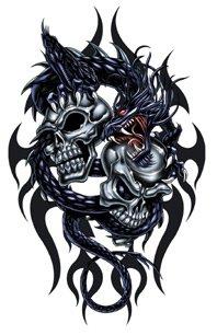 tatouage dragon tribal blog de geoffrey788. Black Bedroom Furniture Sets. Home Design Ideas