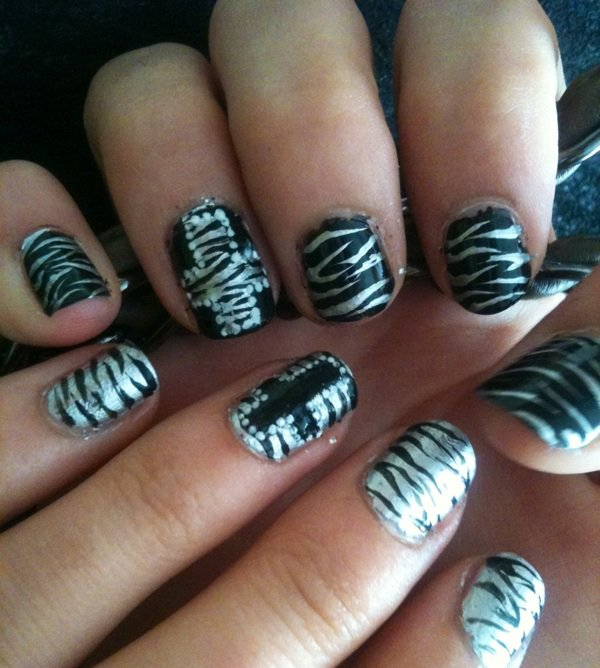 Art m tallique - Nail art debutant ...