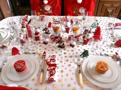 Post le jeudi 22 d cembre 2011 21 00 marennes des - Art de la table noel ...