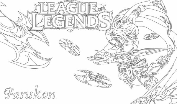 serie -dessin league of legend