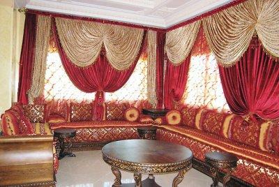rideaux marocain moderne zouhair10. Black Bedroom Furniture Sets. Home Design Ideas