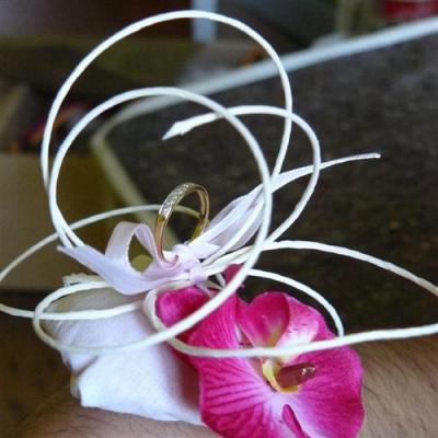 porte alliance avec orchidée #3