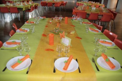 D co mariez vous - Deco chambre orange et vert ...