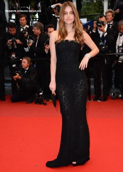 23/05/13: Barbara sur le tapis rouge de Cannes