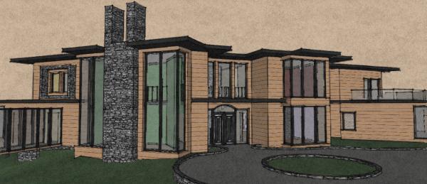 r interpr tation du manoir moderne kevin 39 s blog. Black Bedroom Furniture Sets. Home Design Ideas