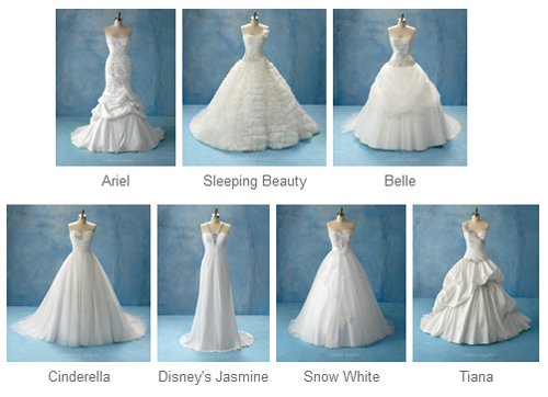 Disney fairytale weddings blog de sparkling disney - Robe de blanche neige ...