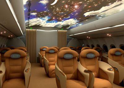 Am nagement int rieur d 39 un airbus a350 foxoscarfox for First class 8 interieur