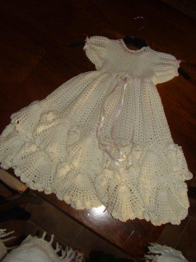 modeles crochet robe de bapteme
