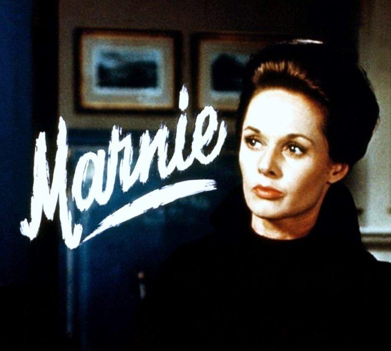 """1964 / FILM CULTE / """"Pas de Printemps pour Marnie"""" (Marnie) d'Alfred HITCHCOCK avec la """"froide"""" Tippi HEDREN jouant aux c�t�s du s�duisant Sean CONNERY"""