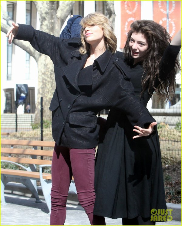 Taylor Swift & Lorde s'amusent � NYC