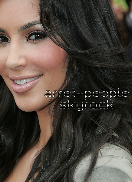 Zoom sur le maquillage de la sublime kim kardashian - Comment faire le maquillage de kim kardashian ...