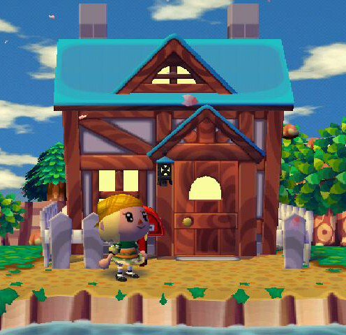 Enfin ma maison animal crossing wii for Agrandissement maison animal crossing wii