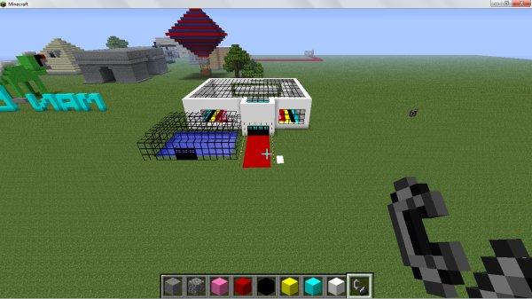 Maison Minecraft Moderne. Perfect Beautiful Maison De Luxe Plan ...