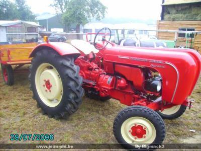 porsche diesel standard la passion des vieux tracteur. Black Bedroom Furniture Sets. Home Design Ideas
