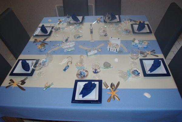 table th 232 me la mer deco de table de christine