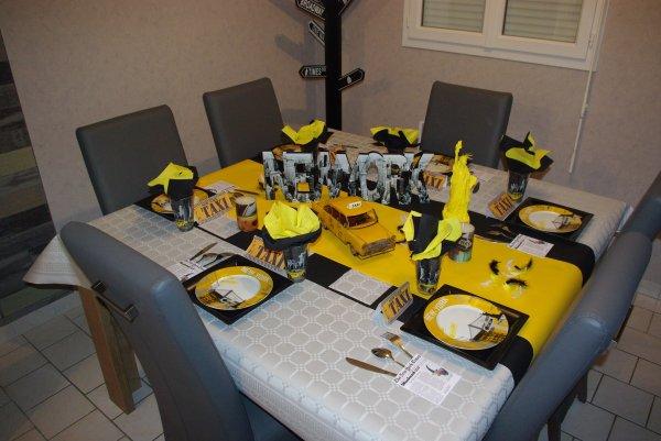 décoration de table new york #2