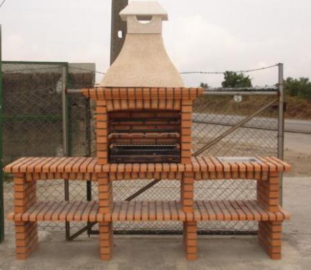 barbecue artisanale en brique r fractaire blog de napoli. Black Bedroom Furniture Sets. Home Design Ideas