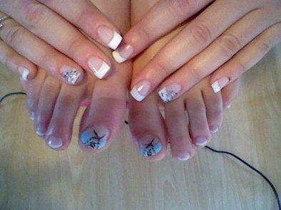 Pose d 39 ongles en gel mains et pieds christel ongles en gel bruxelles - Ongle en gel pied ...