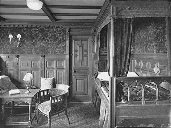 l int 233 rieur du titanic le titanic en 1912