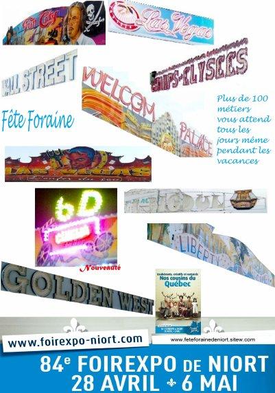 Agenda Grande f�te foraine et  Foire de france 2012