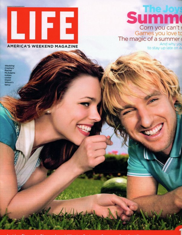 Owen Wilson & Rachel McAdams from The Big Picture: Today's Hot Pics ...