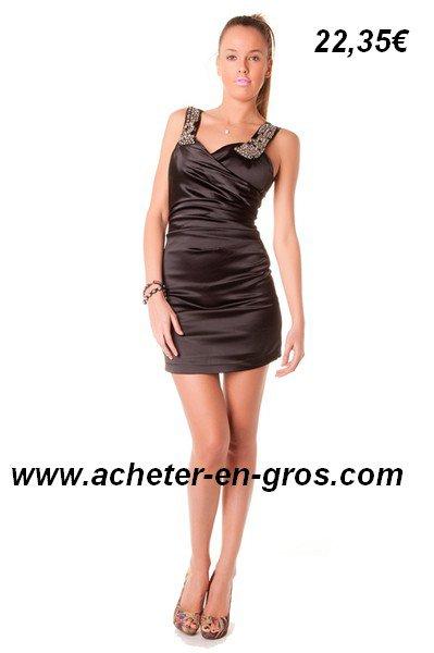 Belle robe noire acheter 6