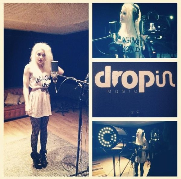 SESSION DROP IN STUDIO POUR LA SURPRISE DE NOEL !!!