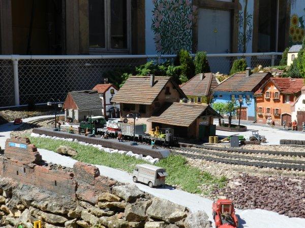 Le train de jardin de molsheim le mat riel roulant e2 for Jardin ferroviaire
