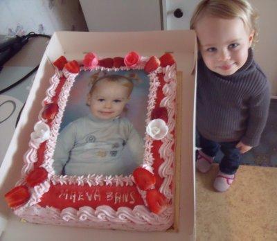 Le gateau d 39 anniversaire pour les 3 ans de ma fille blog de okok59 - Gateau anniversaire fille 3 ans ...