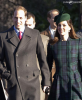 Kate et William � la messe de No�l 2013