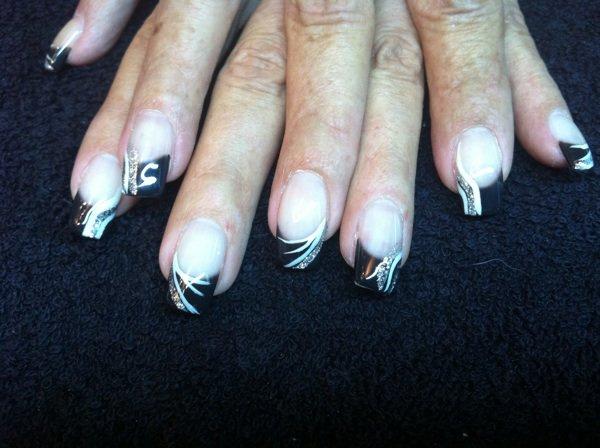 gel noir for hair nails. Black Bedroom Furniture Sets. Home Design Ideas