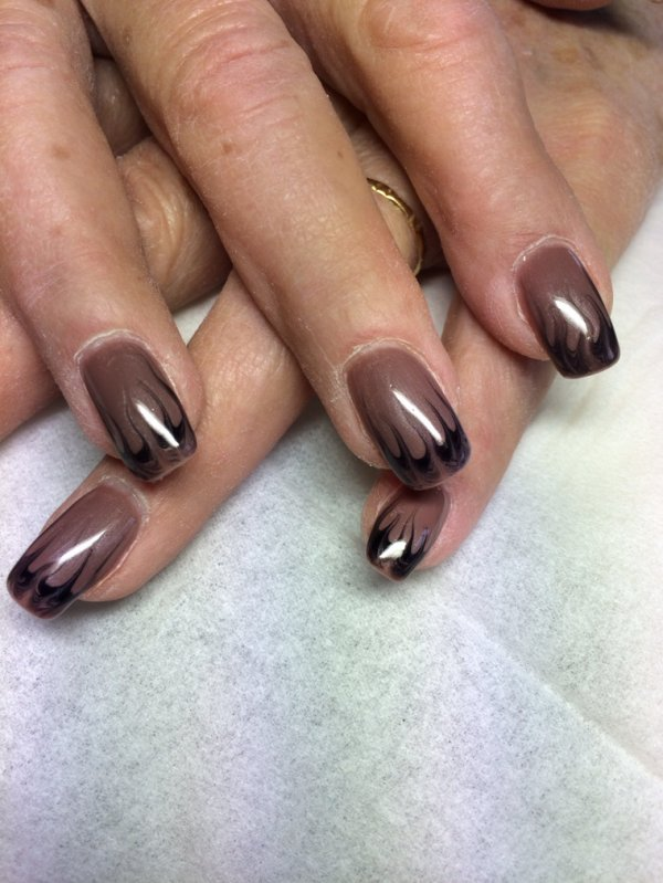 Ongles gel couleur images - Couleur ongle ...