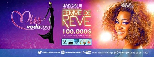 Miss Vodacom Saison 3 est de retour sur vos �crans
