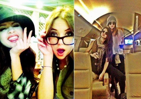 Photos personnelles r�centes de Selena avec des fans ou des amies
