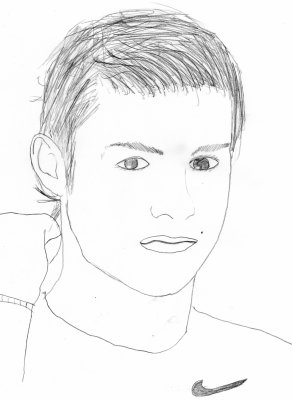 Blog de dessins people blog de dessins people - Dessin cristiano ronaldo ...