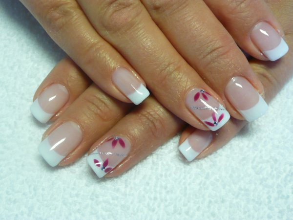 French gel bio sur ongles naturels attitude french - Ongle gel french ...