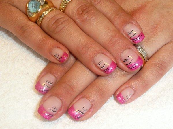 French Rose et Nail Art